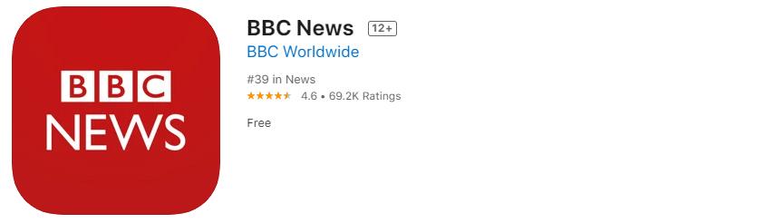 準備雅思IELTS推薦APP-BBC News-看新聞學英文