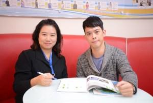 雅思7分學員鄭銘揚