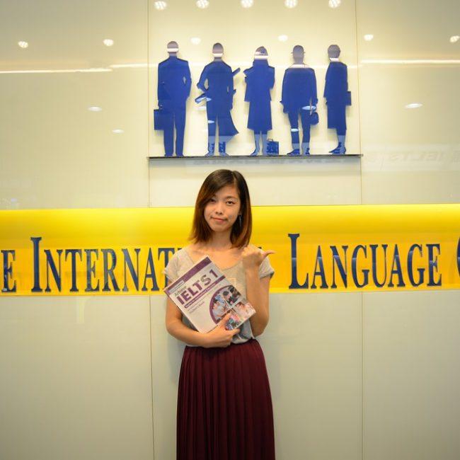 謝同學選擇時代國際考到雅思7分!