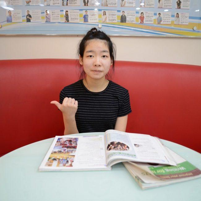 凌同學:考到雅思7分讓我如期實現英國夢
