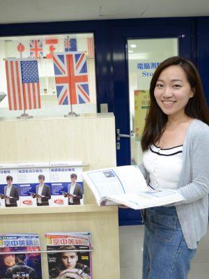 選擇時代國際,張同學在輕鬆的氣氛下,快樂學習考到雅思7分!
