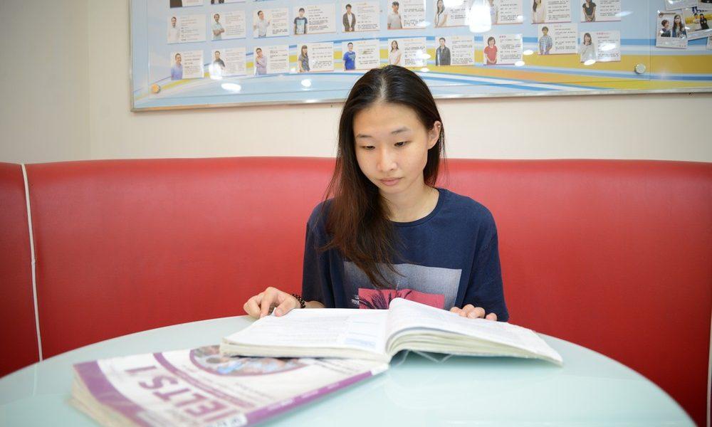 想要申請學校在澳洲雙學位的陳同學,選擇時代國際考取雅思7分