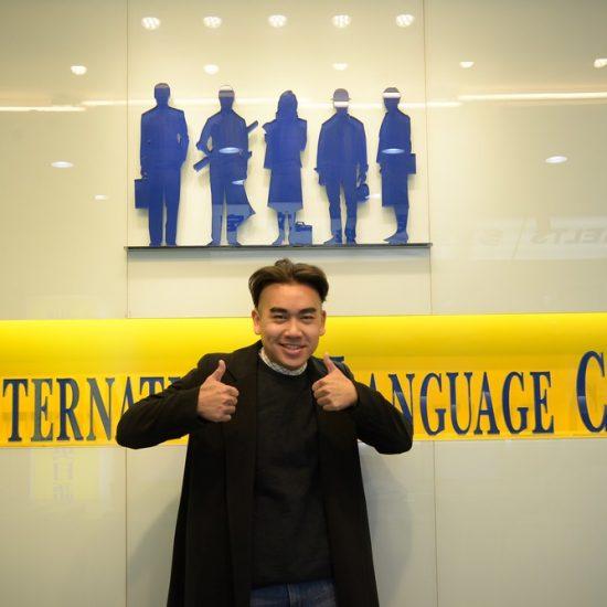 蔡同學一邊工作一邊上時代國際雅思課程