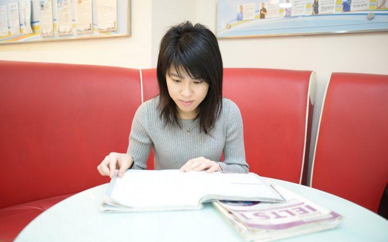 蔡同學選擇時代國際雅思補習班準備IELTS考試